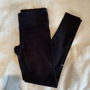 ALO black mid rise airbrush legging